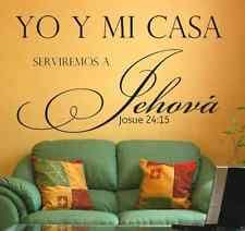 Spanish Christian Quotes Best Of Spanish Wall Decals EBay