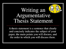 Essay with thesis statement example Making a thesis statement for an essay  English literature essay