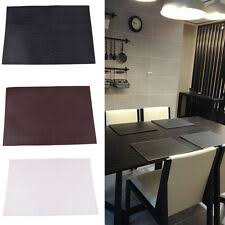 <b>Leather</b> Rectangular <b>Placemats</b> for sale | eBay