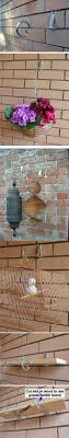brick wall less bracket plant hanger jpg
