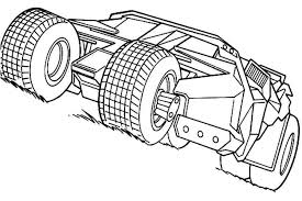 Small Picture Batman Batmobile Coloring Pages Coloring Pages