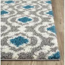 full gray and turquoise rug porch den marigny touro trellis grey 5 3 x 7
