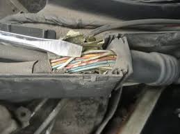 topic c w feedback here are troubleshooting examples of mb wiring harness gone bad dry rot cracks heavy wear tear etc