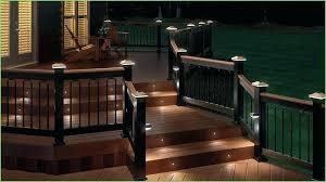 deck stair lighting ideas. Lowes Deck Lighting Solar Lights Post Cap Railing . Stair Ideas