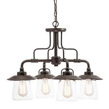 glamorous lighting chandelier home depot chandeliers dark brown iron with glass lamp cover