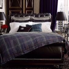 ralph lauren plaid bedding breathtaking comforter and on idea di casa interior design 34