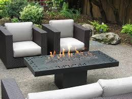 romantic natural gas fire pit table bring warm nuance into house decoration nu decoration inspiring home interior ideas