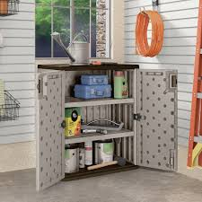 Resin Utility Cabinet Suncast 25 Ft W X 16 Ft D Base Storage Cabinet Reviews Wayfair