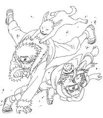 Small Picture Yellow Coloring Pages naruto coloring pages