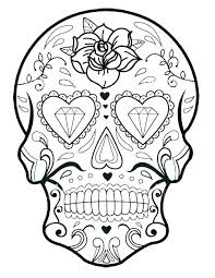 Coloring Pages Of Skulls Metabolismdietinfo