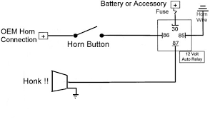 horn wiring diagram horn image wiring diagram 12 volt horn wiring diagram 12 wiring diagrams on horn wiring diagram