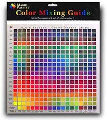 Colour Mixing Chart For Artists Magic Palette Colour Mixing Guide Personal 5324