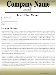Example Of An Interoffice Memo Vbhotels Co
