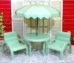 dollhouse outdoor furniture. Dollhouse Patio Furniture Mansion Set 3 4 Vintage Hard Plastic How To Make . Outdoor