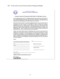Credit Consent Form Pilot Study 2 On Processes For Determining The Accuracy Of Credit Bur