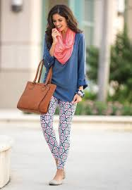 What To Wear With Patterned Leggings Simple Design Inspiration