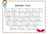 Letter Tracing Templates Printable Letter Tracing Worksheets For Preschoolers With Alphabet