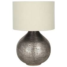alluring hammered metal table lamp hammered table lamp base only