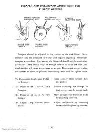 John Deere Van Brunt Model B Grain Drill Operators Manual Parts Manual