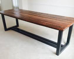 wood and iron furniture. the ironworker contemporary design reclaimed wood and iron dining table furniture d