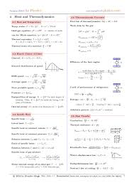 fluid dynamics equation sheet. 7. formulae sheet fluid dynamics equation