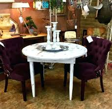 Shabby Chic Round Dining Table Consulininfo