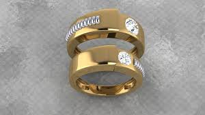 Latest Couple Ring Designs Pin By Jeweldezire On Wedding Jewellery Online Jewelry