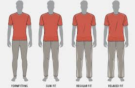 Regular Fit T Shirt Size Chart Mens Tops Clothing Size Chart