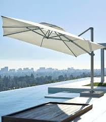 cantilever patio umbrellas square cantilever umbrella by rectangular cantilever patio umbrellas uk