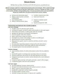 Call Center Supervisor Resume Sample Perfect Resume Format