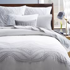 Crafted from 100% cotton, the Maroc Duvet features a placed ... & Bedding at West Elm - Maroc Embroidered Duvet Cover + Shams Adamdwight.com