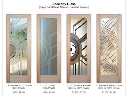 specialty glass doors page