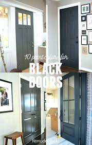 interior doors painting new doors for home painting your interior doors black gives your home a interior doors painting