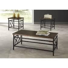 Three Piece Living Room Table Set