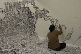 We all know that drawing on the walls is a big no-no  well, at least  according to parents, school officials, bosses and landlords  but artist  Yosuke Goda ...