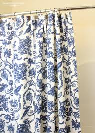 alluring blue shower curtains target with pattern curtains for amazing bathroom ideas