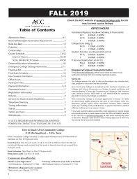 Catalogs Schedules Course Syllabi Alvin Community College