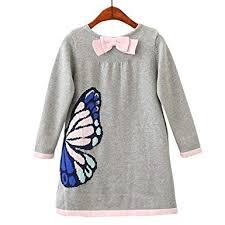 W <b>Girls Woolen</b> Sweater Brands <b>Winter Autumn Girl</b> O-Neck Printed ...