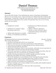 Best Overpayment Recovery Learning Facilitator Resumes Resumehelp