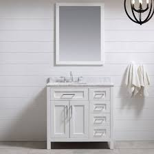 Ove Decors Tahoe 36 Single Bathroom Vanity Set with Mirror in White