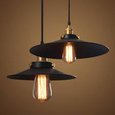 pendant industrial lighting. Vintage Industrial Lamp 36cm Lampara Retro Pendant Light Lampshade Loft Lights Living Dining Room Countryside E27 Lighting