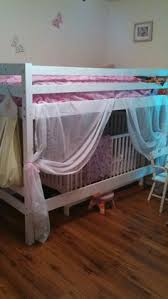 shared kids room with crib