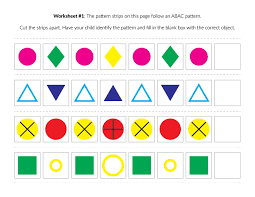 Advanced Patterns Worksheets - Gift of Curiosity