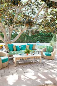 Patio furniture decorating ideas Sectional Patio Outdoor Patio Decorations Outdoor Decor Ideas Outdoor Vintage Sofa And Coffee Table Nickey Kehoe Footymundocom Patio Outstanding Outdoor Patio Decorations Outdoorpatio