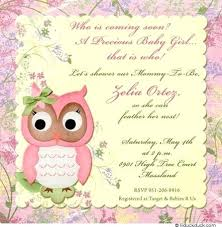how to word a baby shower invitation owl baby shower invitation wording ideas invites couples