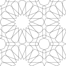 Islamic Geometric Patterns Coloring Pages Collection Coloring For