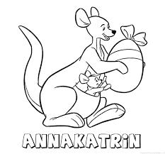 Annakatrin Naam Kleurplaten