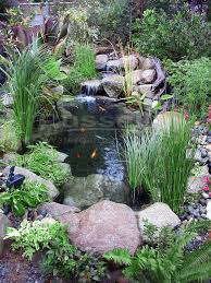 create beautiful water garden ponds hybrid ponds and crossover ponds with the easy to clean ahi hydro vortex waterfall small pond filter