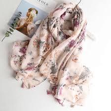 <b>VISROVER</b> cactus <b>summer scarf women</b> viscose shawl ladies ...