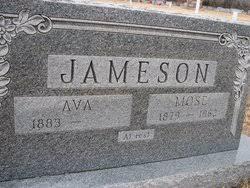 "Samuel Mose ""Mose"" Jameson (1879-1962) - Find A Grave Memorial"